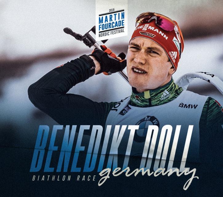 Benedikt Doll, biathlète allemand