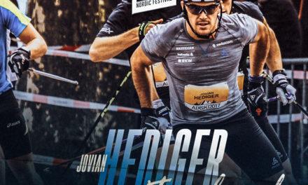Jovian Hediger, fondeur suisse