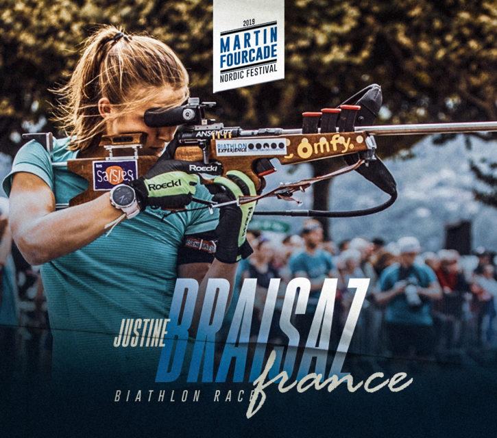 Justine Braisaz, biathlète française