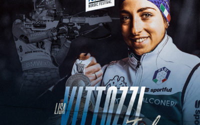 Lisa Vittozzi, biathlète italienne