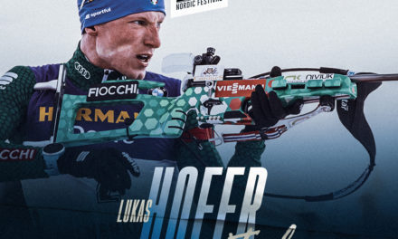 Lukas Hofer, biathlète italien