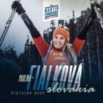 Paulina Fialkovà, biathlète slovaque