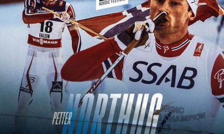 Petter Jr Northug, fondeur norvégien
