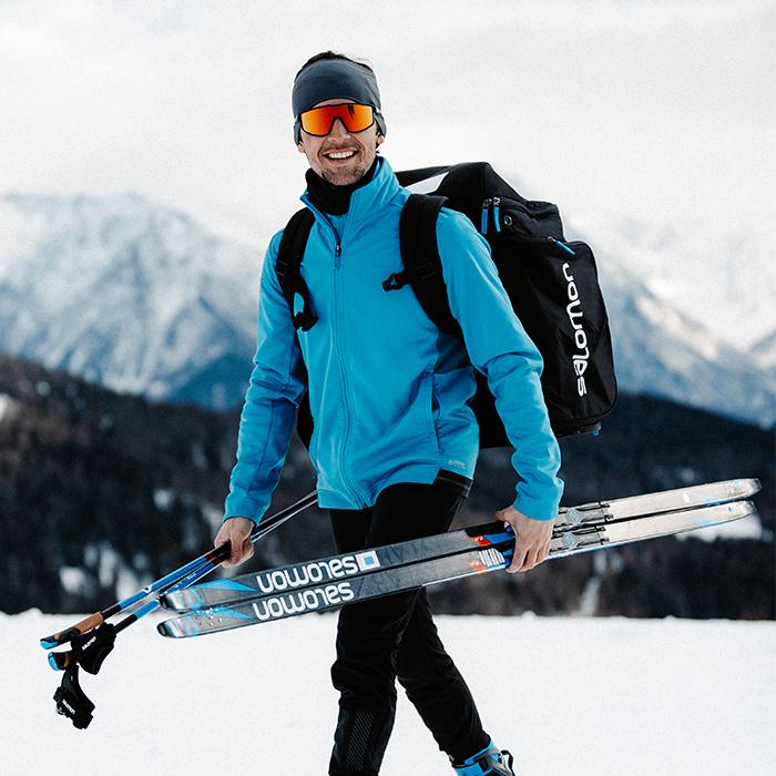 ski nordique-lunettes de soleil