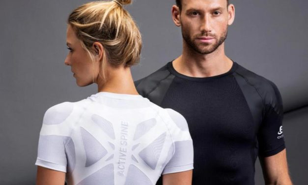 Active Spine : le t-shirt Odlo qui améliore la posture