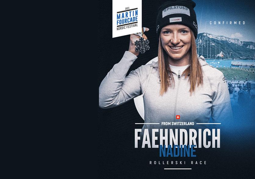 Nadine Fähndrich, fondeuse suisse