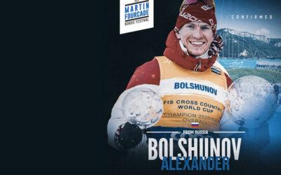 Alexander Bolshunov, fondeur russe