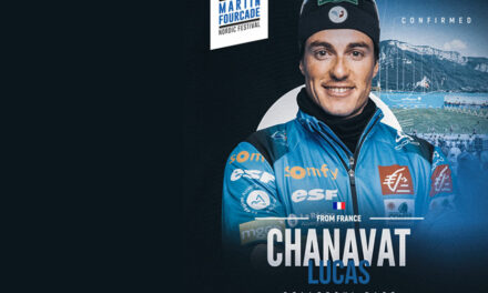 Lucas Chanavat, fondeur français