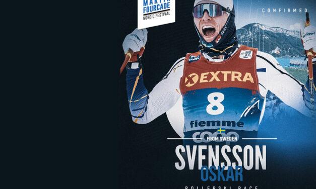 Oskar Svensson, fondeur suédois