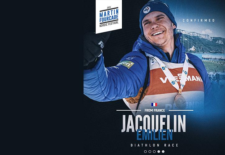 Emilien Jacquelin, biathlète français
