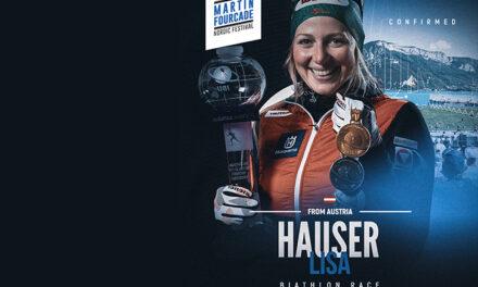Lisa Hauser, biathlète autrichienne