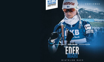 Mari Eder, biathlète finlandaise