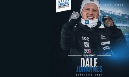 Johannes Dale, biathlète norvégien