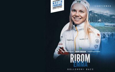 Emma Ribom, fondeuse suédoise